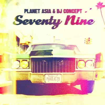 Planet Asia & DJ Concept - Seventy Nine [2016]