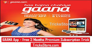 Free Gaana App Activation Trick 2018