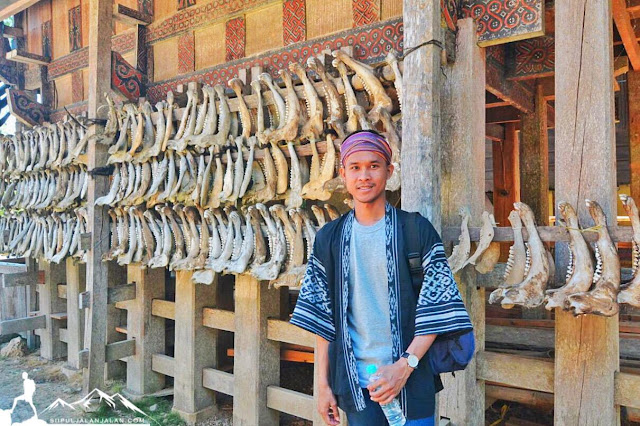 Objek wisata Kete Kesu di Toraja