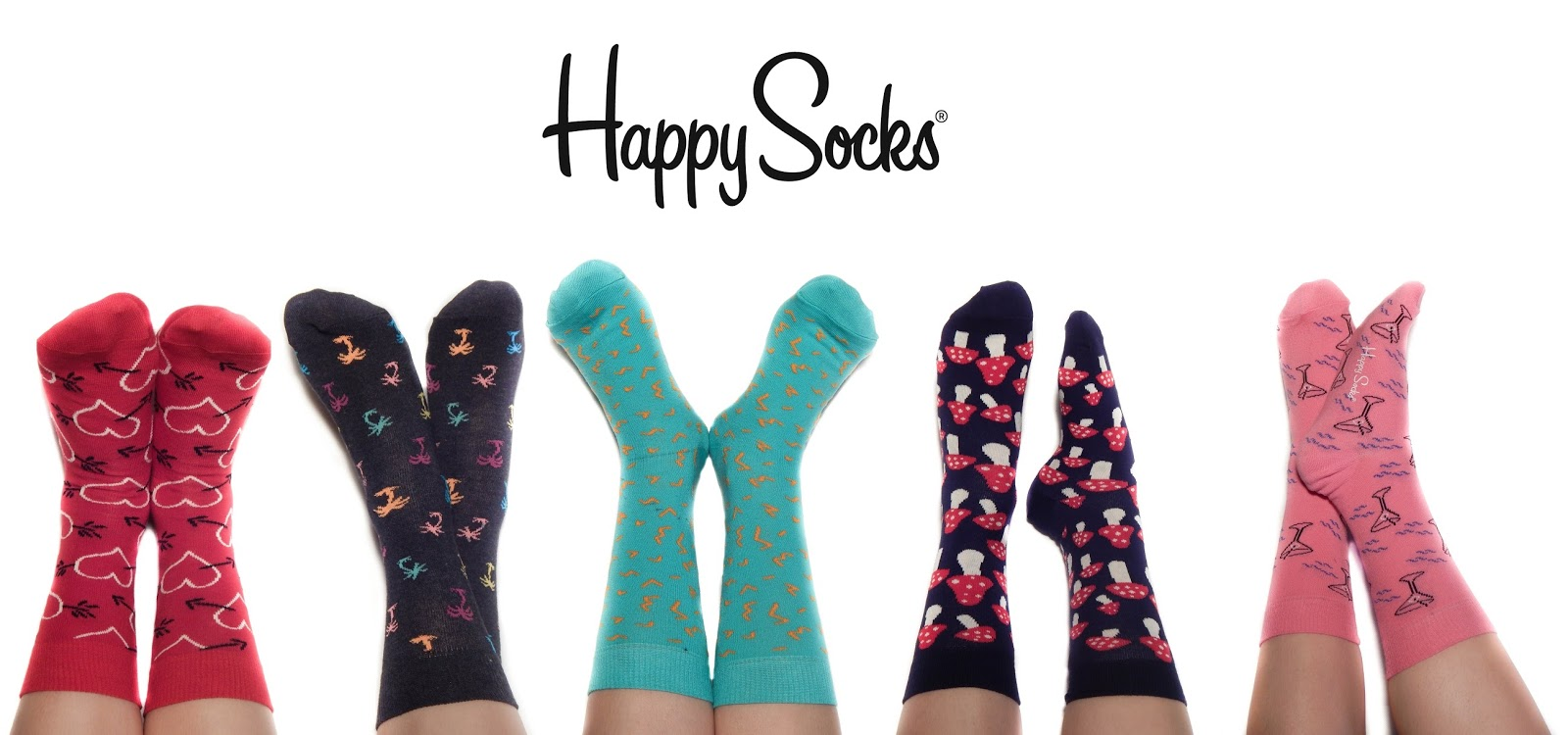 happysocks happy socks sweden skarpety skarpetki mushrooms love palms coctails colorful gift
