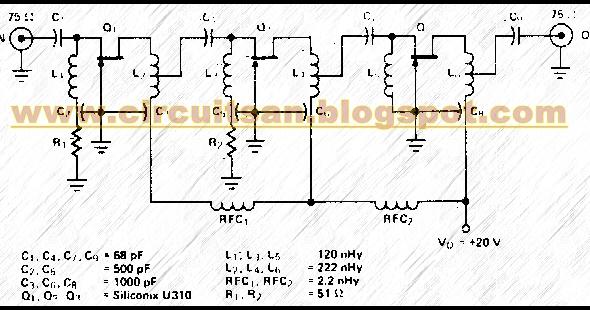 Wideband Buffer Circuit Diagram