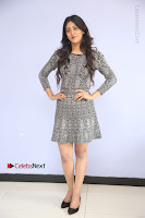 Actress Chandini Chowdary Pos in Short Dress at Howrah Bridge Movie Press Meet  0093.JPG