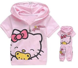 Gambar Jaket Hello Kitty Untuk Anak 7
