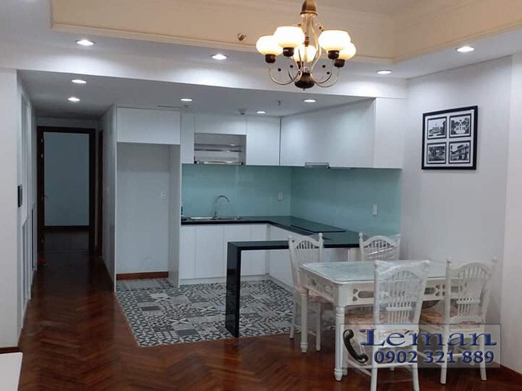 bán hoặc cho thuê căn hộ Léman 2 phòng ngủ tầng 10