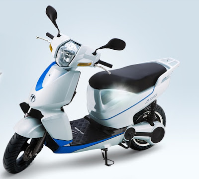 Terra A4000i Electric Scooter side front view