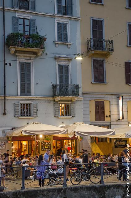 Viaje Navigli Milan turismo Italia