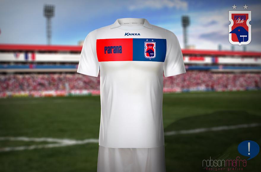 Paraná Clube 2013, Camisa Oficial II Kanxa, away
