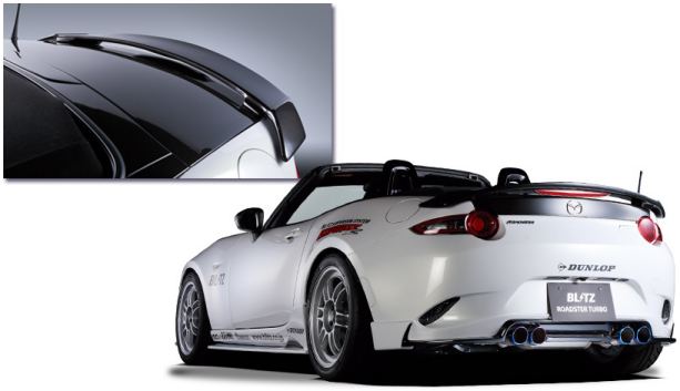 Mazda MX-5 ND Blitz Spoiler (with brakelight)