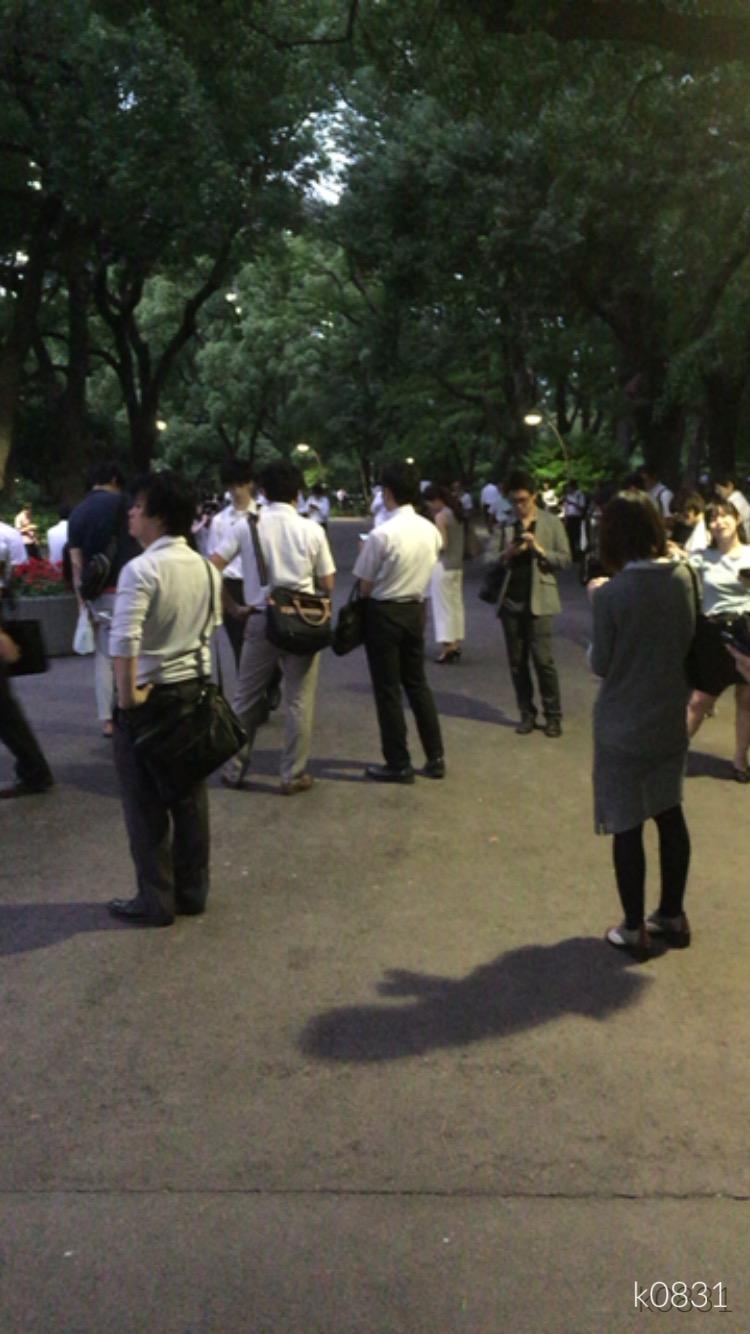 【ポケモンGo】Day7: 日比谷公園にもポケモンの桜ふぶき舞う