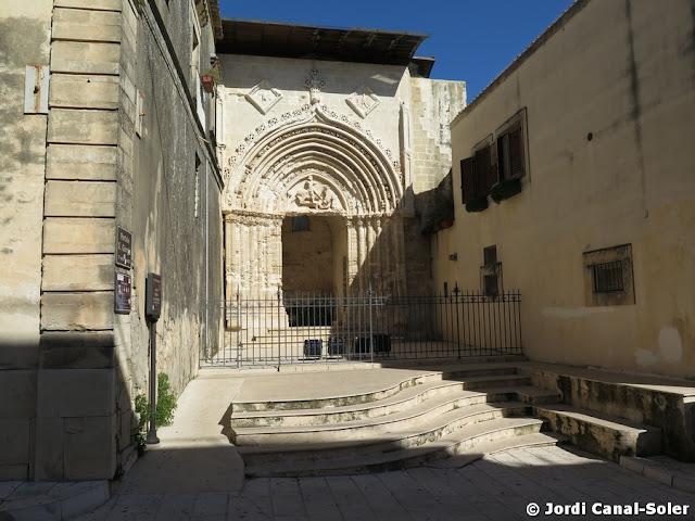 Portal de la iglesia de San Giorgio Vecchio de Ibla