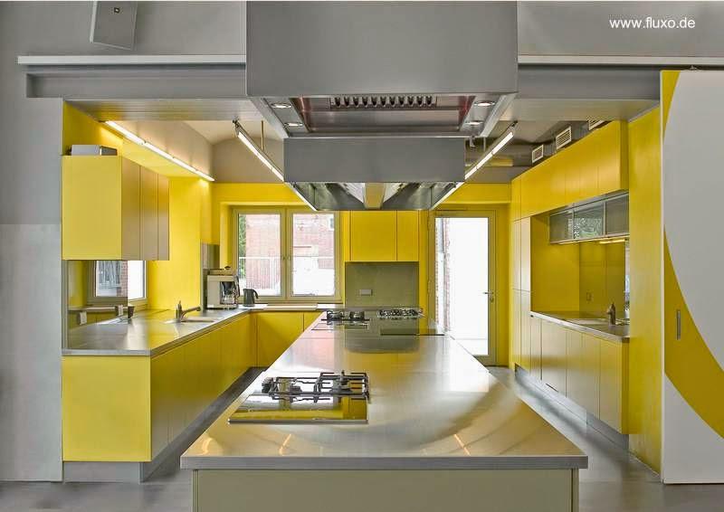 Cu les son los mejores colores para la cocina blog de for Muebles de cocina amarillos