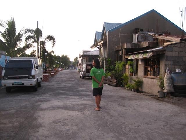 フィリピンの田舎の家屋