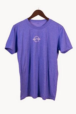 Arctica Logo Small Blue Shirt