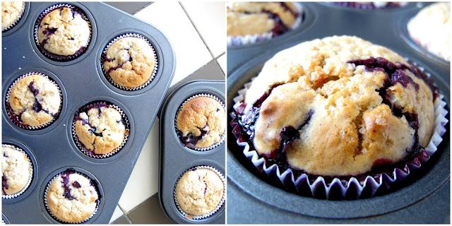 Bannana & Blueberry Muffins