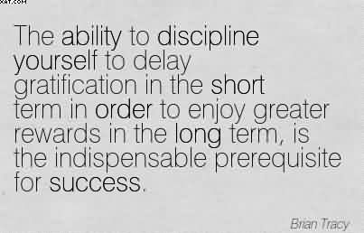 my experience with delayed gratification Delayed gratification october 27, 2017 by susan b new blog post about my bankruptcy experience my blog is now located on the.
