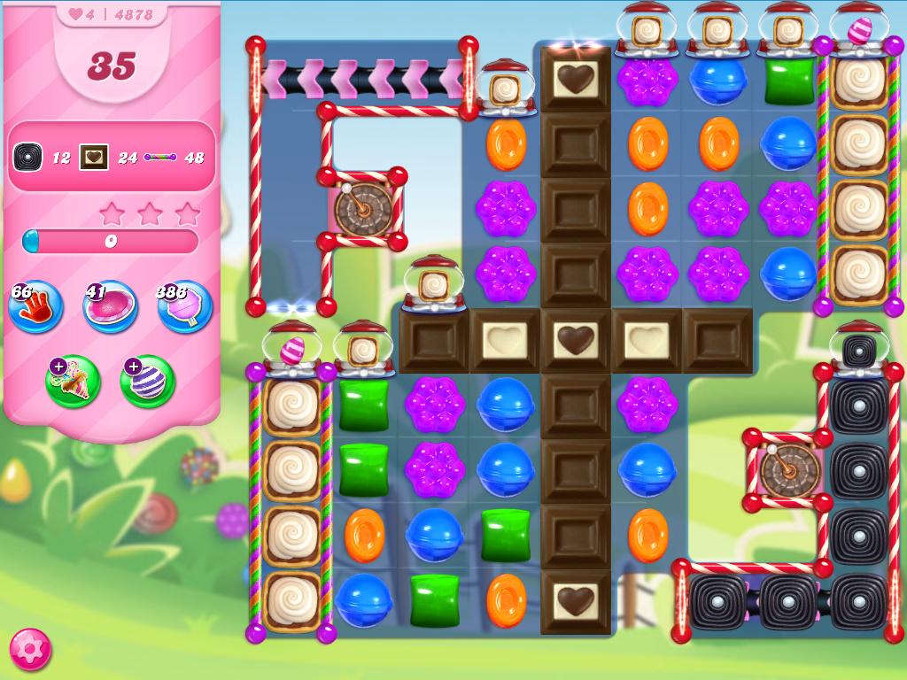 Candy Crush Saga level 4878