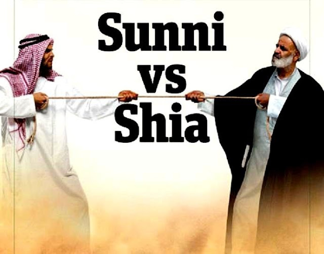 Image result for shia vs sunni