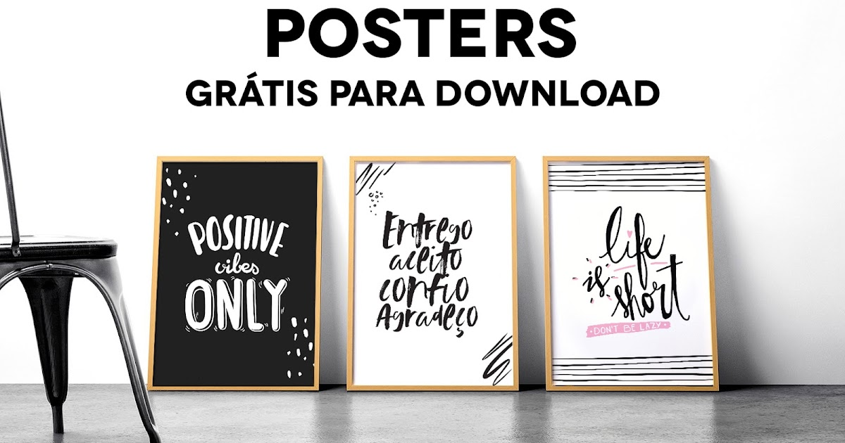 Camilarechcombr Para Decorar Posters Grátis Para Download