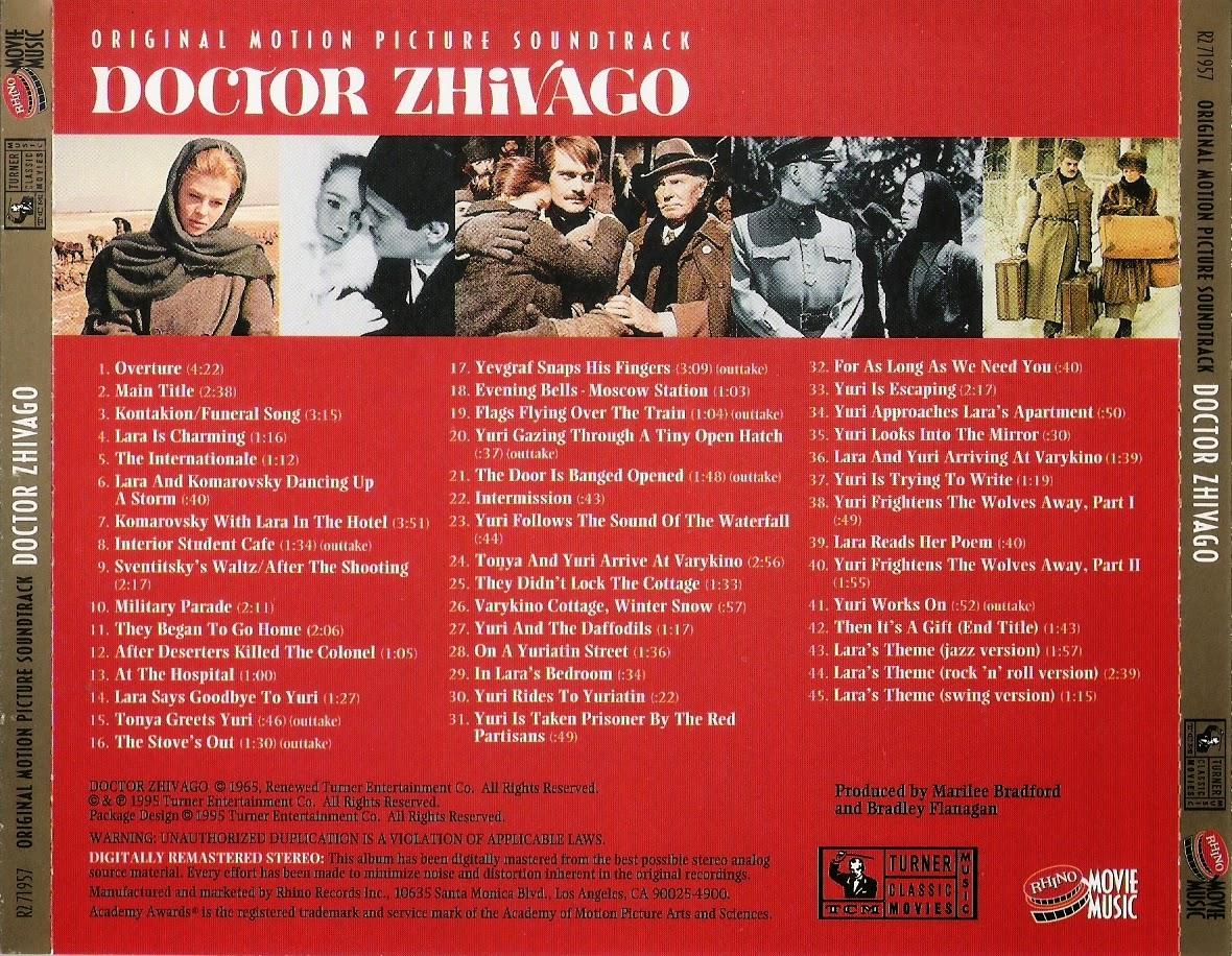 Doctor Zhivago, Maurice Jarre