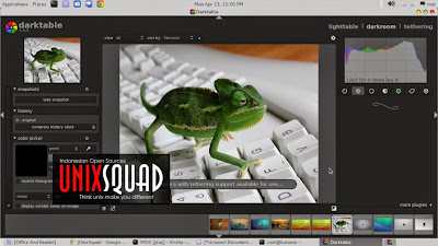 Dark Table Free Picture Editor Linux