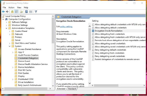 Mengatasi RDP Login Error CredSSP 3
