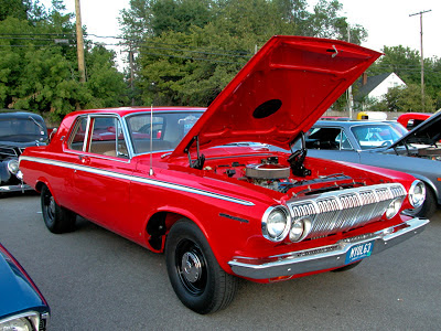 Dodge 440 2-Door Sedan with Modified 426 Wedge Vermillion