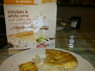 Sainsbury's Classic Chicken and White Wine Pie