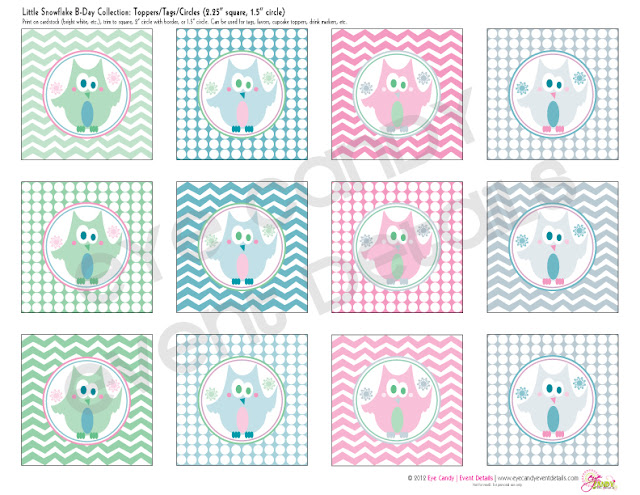 polka dots, chevron, kids birthday, wintertime, winter birthday
