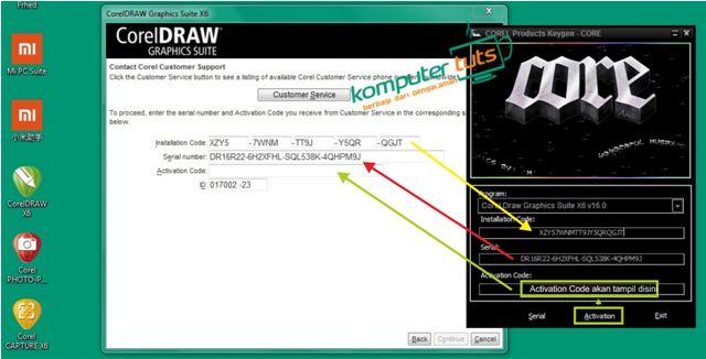Cara Mendapatkan Serial Number Coreldraw X7