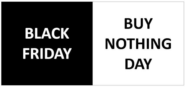 Black Friday Buy Nothing Day