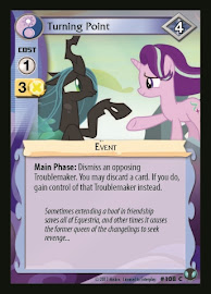MLP Turning Point Defenders of Equestria CCG Card