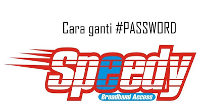 cara ganti password speedy