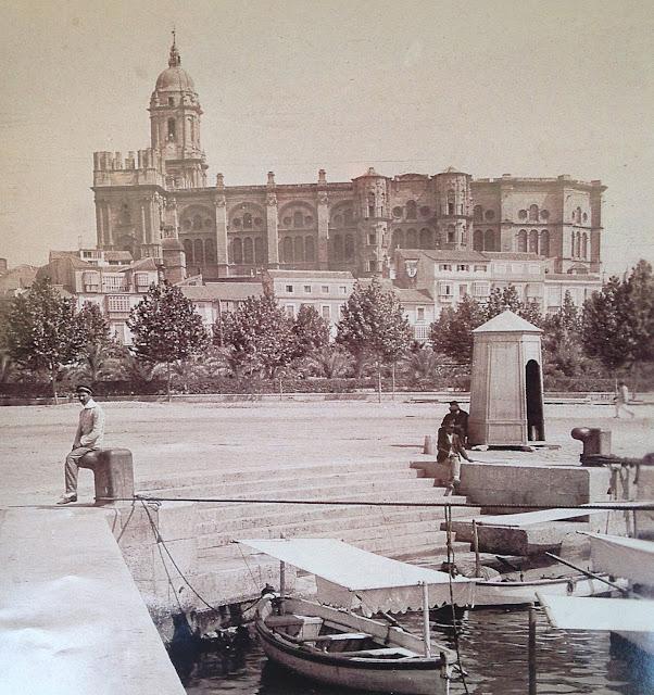 Malaga Cathedral 1915