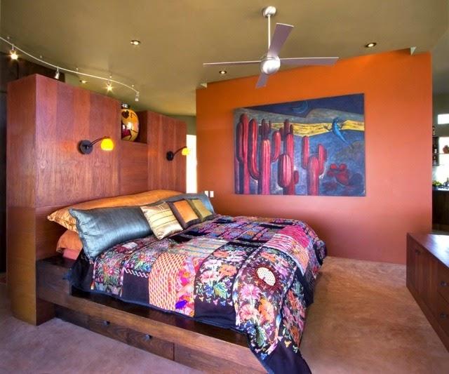 Habitación llena de colores