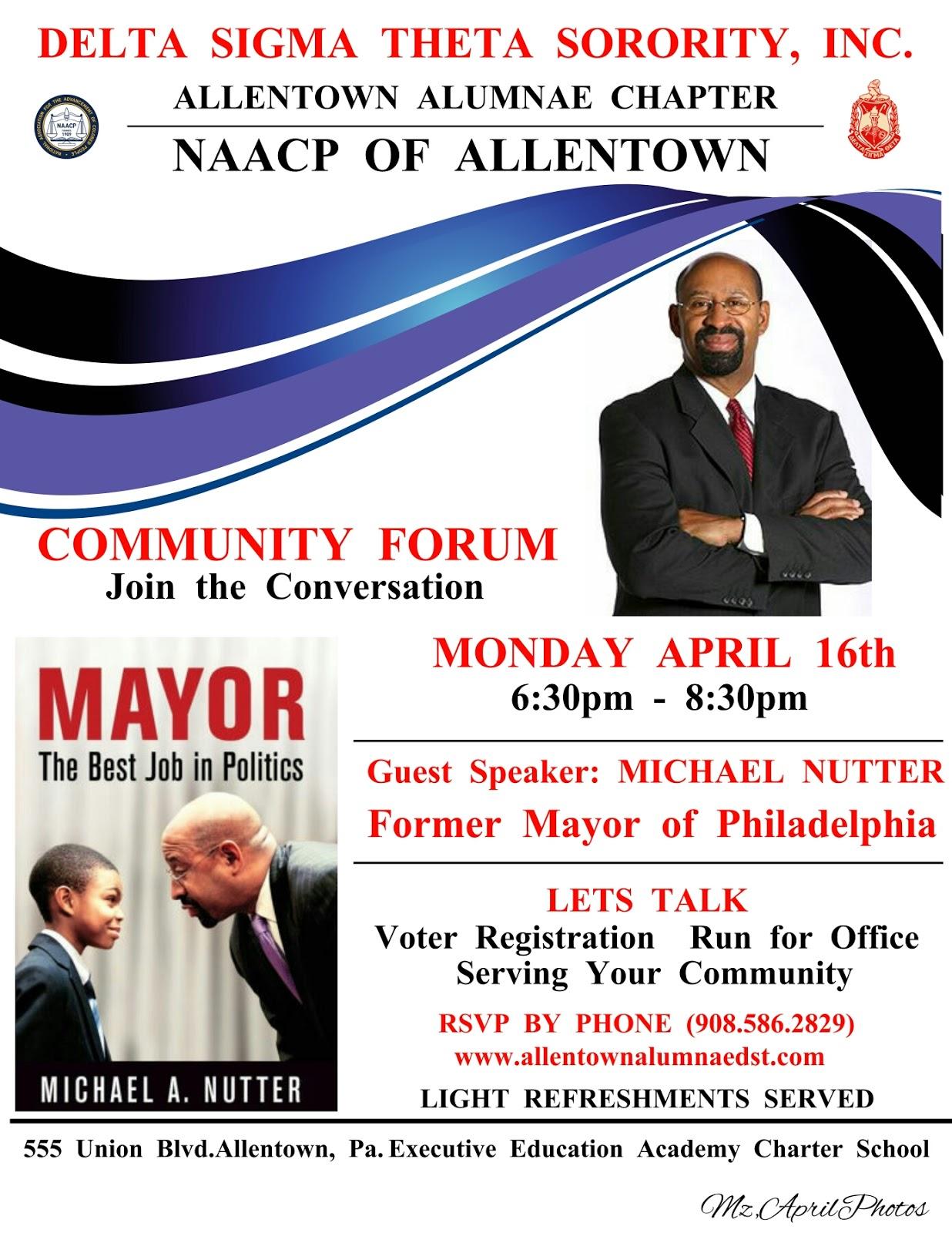Lehigh Valley Black News Network Community Forum With Michael