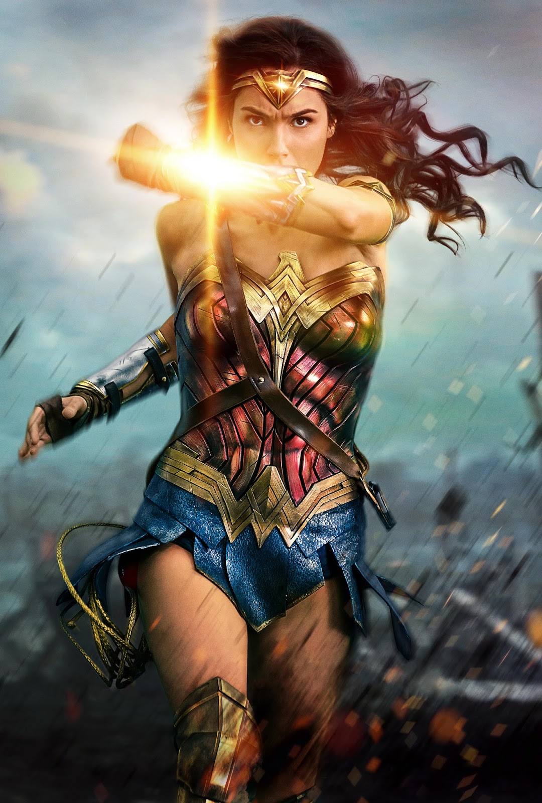 Israeli actress Gal Gadot plays Diana, princess of the Amazons