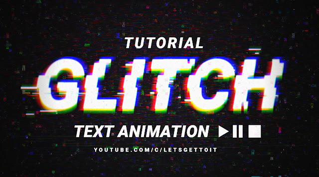 Create a Cool Glitch Text Animation Effect in Photoshop