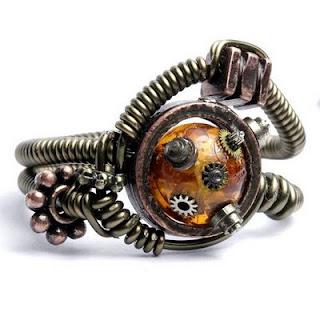 Anillo Steampunk