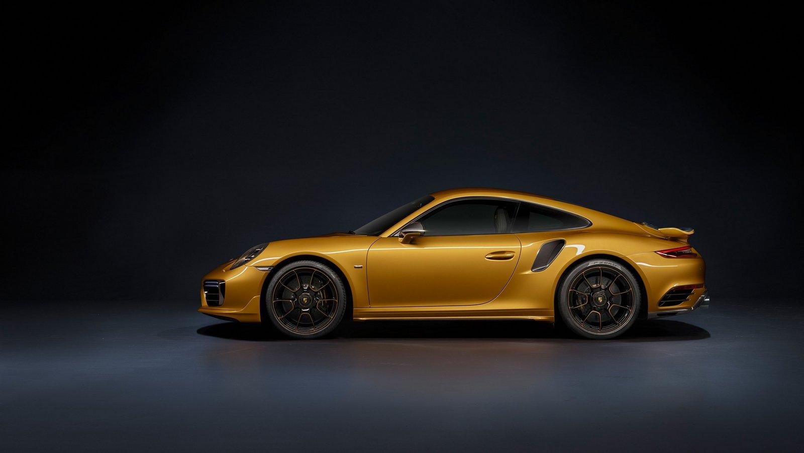 New Porsche 911 Turbo S Exclusive Series Gets An