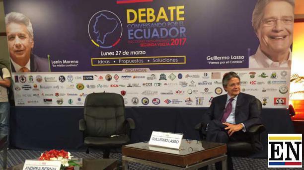 Guillermo Lasso vs Lenin Moreno