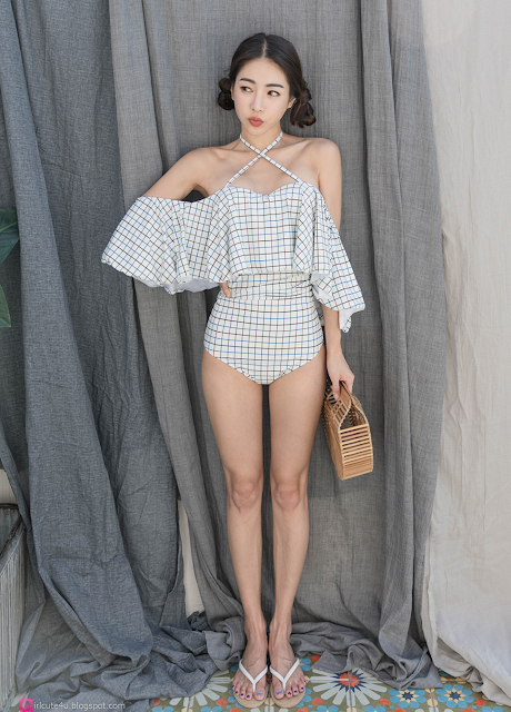 3 An Seo Rin - Swimwear - very cute asian girl - girlcute4u.blogspot.com