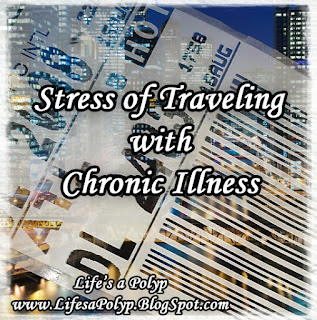 stress and travel life's a polyp