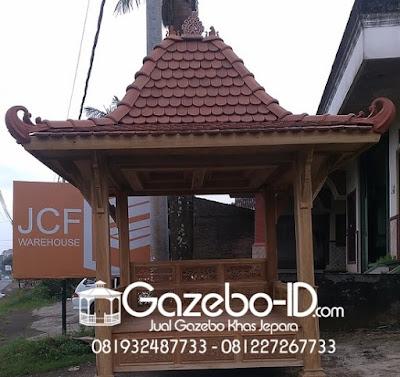 Gazebo Joglo Jati Jepara