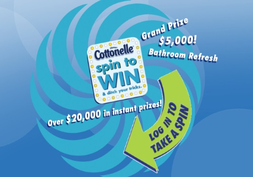 Cottonelle Spin to Win Contest