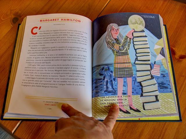 Storie della buona notte per bambine ribelli: Margaret Hamilton