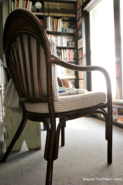 Thrift Store Bamboo Chair Makeover
