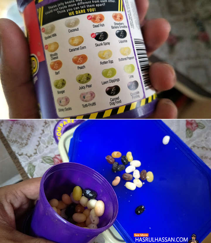 We Dare You Try Jelly Bean - Bean Boozled