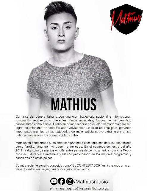 Mathius - Gira de medios - 7 . 8 . 9 de febrero