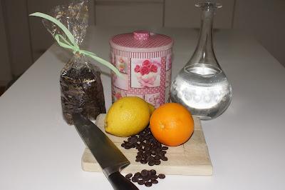 aiguillette orange confite