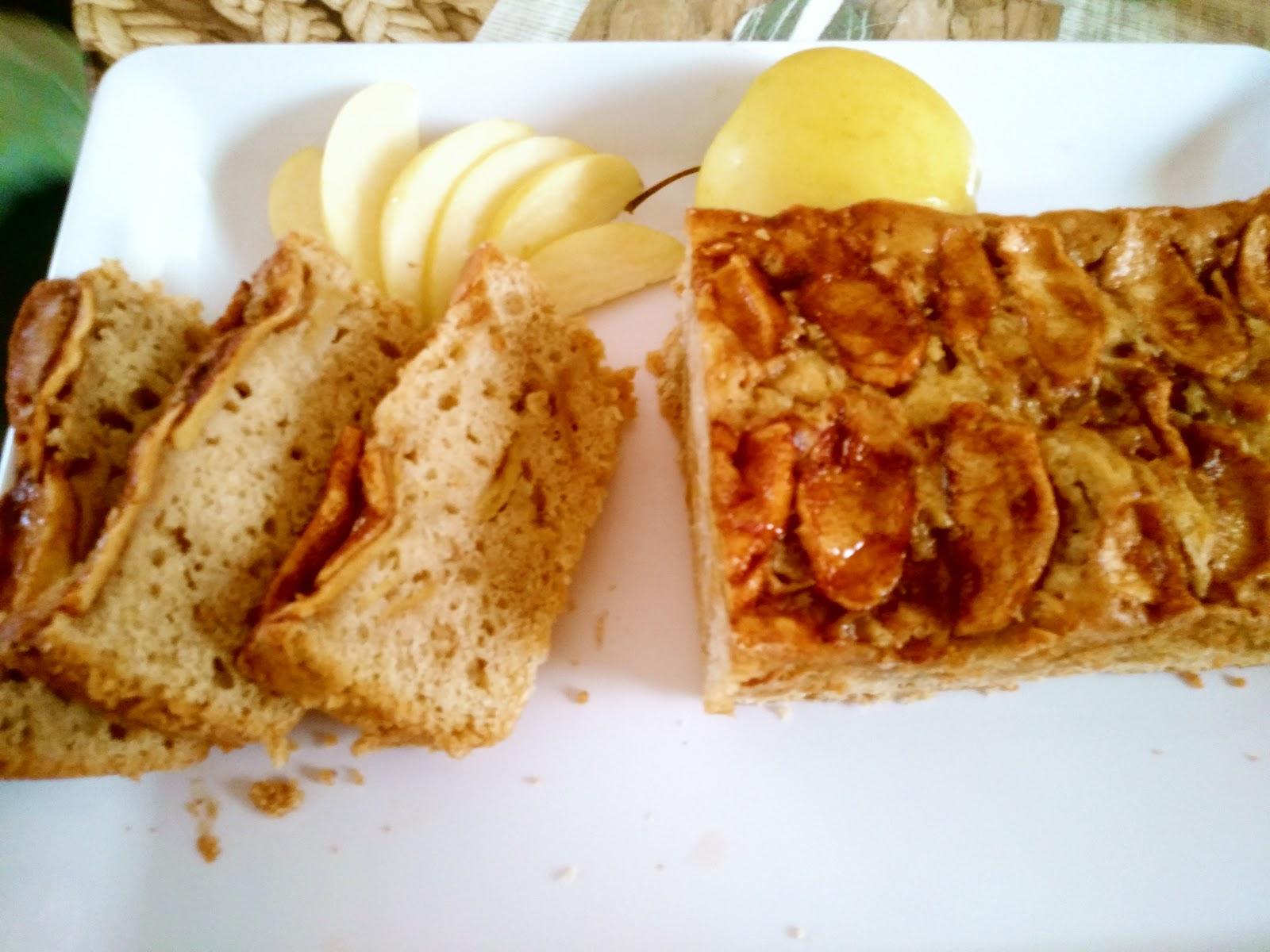panque de manzana